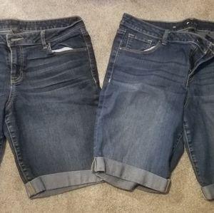 2 Apt 9 Bermuda Shorts - Size 12